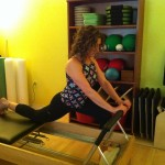 Working it out at JDV Pilates